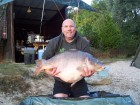 Fabian Posts 55lb 5oz  using bls peperami pop up from Bench