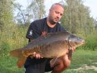 Steves 20lb  using OFF TOP (doggys) from Swim No 4