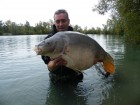 Adrian Pollingtons 42lb 13oz  using coconut grubs from Number 1