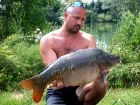 Steves 21lb 5oz  using Floaters from Swim No 2