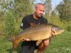 Steves 21lb 5oz  using OFF TOP (doggys) from Swim No 4