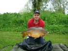 Kevin Wains 24lb 7oz  using Pineapple popup & tiger/peanut boilie from Swim No 6