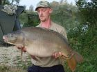 Fred Mcconnells 30lb 10oz  using b l s from Treetops