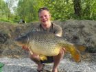 Dave Kings 30lb 7oz  using Maize from Swim No 4