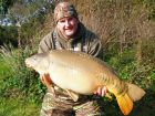 Craig Hams 32lb  using Ocean X from Railway Middle