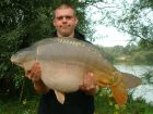 Aidan 'chunk' Greens 32lb 8oz  using tiger from tree tops