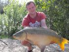 Dave Kings 33lb 6oz  using Maize from Swim No 3
