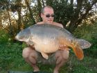 Stuart Ayres 33lb 7oz  using BLS from Point