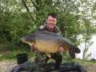 Gary Pages 33lb  using Maize from Swim No 4