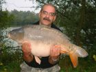 Stewart 'Wal' Greens 33lb  using tiger from tree tops