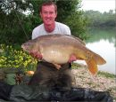 Simon Waterss 34lb 3oz  using Pellet / Corn from Bench