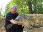 Andy Swaines 34lb  using Maize from Swim No 4