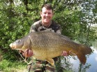 Gary Pages 36lb 2oz  using Cell Pop Up from Swim No 4