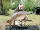 Kev Teesdales 36lb 2oz  using Tiger nut and sweetcorn pop up from Beaches