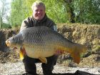 Andy Swaines 37lb 5oz  using Maize from Swim No 4