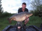 Gary Pages 40lb 6oz  using Maize from Swim No 4