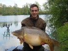 Andy Garners 41lb 8oz  using northern special pop up from Number 1