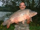 Wals 41lb 9oz  using tiger from tree tops