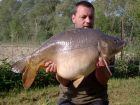 Gavs 42lb 8oz  using Nash Squid Liver from The Point