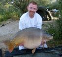 Barneys 42lb  using Tiger Nut from The Point