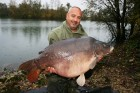 Steves 51lb 7oz  using Sweetcorn from Poachers