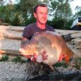 Simon Waterss 54lb 12oz  using CELL from Bench