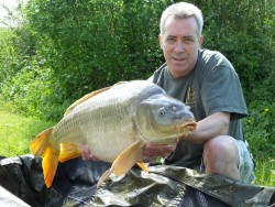 Adrian Pollingtons 20lb  using Tigers from