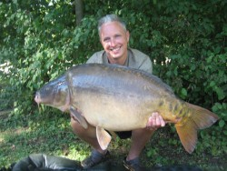 Ian  Hutchisons 20lb  using Tiger Nut with maize from Bench swim from