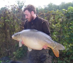 Liam Brennans 20lb 3oz  using Krill from