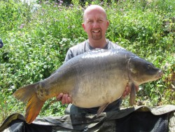 Mark Evanss 20lb  using Krill snowman from