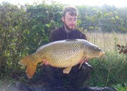 Liam Brennans 20lb 1oz  using Krill from