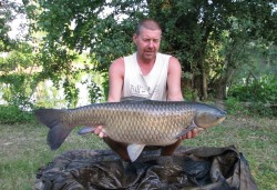 Steve Trickers 20lb 10oz  using Pop up corn from