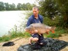 Paul Wilkinsons 39lb 10oz  using Bill's Lake Specials from Boat Swim