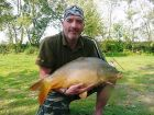 Liam Boasts 22lb  using Tiger nut from The Fairway