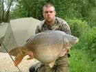 Aidan 'CHUNK' Greens 42lb 6oz  using Nut from The Point