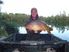 Simon s 25lb 3oz  using Cell Pop Up from Poachers