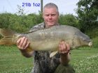 Chris Paiges 21lb 1oz  using Tiger Nut from Railway Middle