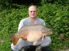 Ian Cumbers 41lb 2oz  using Tiger Nuts from Poachers