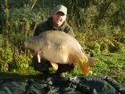 Jim Dickinsons 41lb 2oz  using Ocean X from The Point