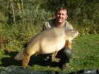 Jim Dickinsons 51lb 12oz  using Ocean X from The Point