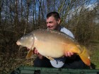 Paul Newenhuites 23lb 1oz  using boilie from Bench