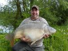 Frank Carters 50lb 1oz  using fruity crab from Treetops