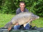 Kevin Lennons 44lb 8oz  using  from Poachers