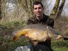 Chris Lagilles 33lb  using ace fruity from Swim No 6