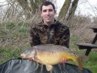 Chris Lagilles 25lb  using ace fruity from Swim No 6
