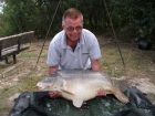 Clive Blackwells 53lb 9oz  using cell from Poachers