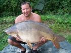 Chris Parrys 50lb  using bannana twist from Number 1
