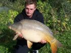 Dean Underdowns 23lb 3oz  using Fruity Crab from Treetops