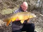 Mark Van Mouriks 20lb  using monkey nuts from Bench