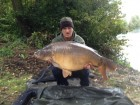 Dave Tews 40lb 4oz  using Cell from Swim No 6